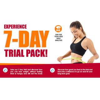 7 Days Weight Lost Trial pack
