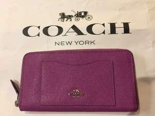 Coach 女裝長銀包 (購自日本)
