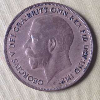 1921 GB One Penny