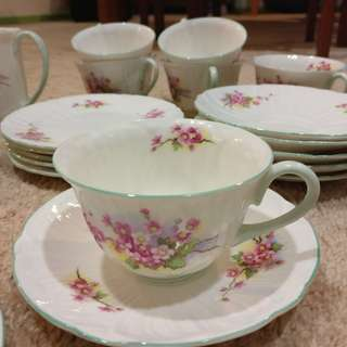 Shelley China tea set