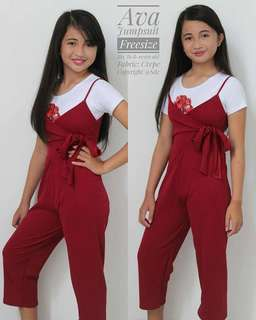 👗jumpsuit with inner top
