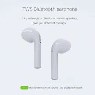 Wireless Bluetooth Earphones Stereo Headset Sports for iPhone 7 plus and Android smartphones