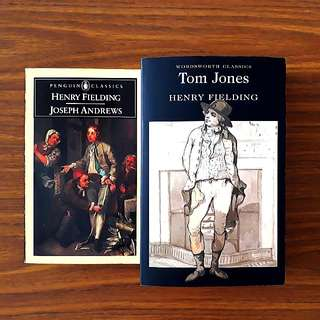 2 for $10: By Henry Fielding: Tom Jones; Joseph Andrews