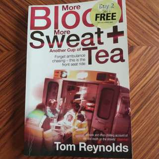 More Blood More Sweat + another cup of Tea - Tom Reynolds