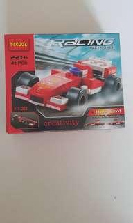 Inspired Lego F1 car
