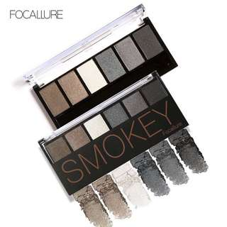 🦋FOCALLURE Eyeshadow Palette Smokey Eye Shadow Shimmer Colors Makeup Kit🦋