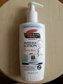 美國 Palmer's 防妊娠紋膏 Cocoa Butter Formula Massage Lotion for Stretch Marks with Vitamin E (250g 大支裝)