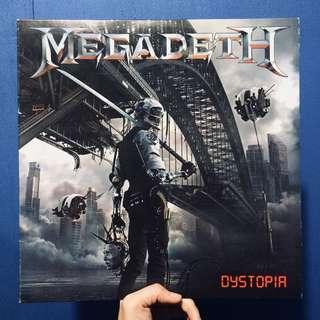 Dystopia LP by Megadeth (Vinyl Record)
