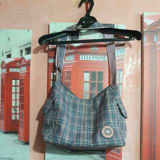 Heartstrings Pink & Gray Bag