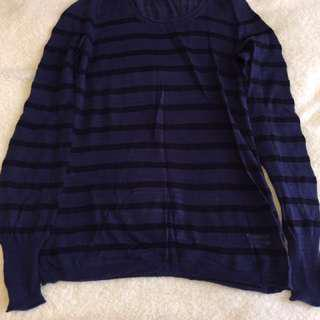 Banana Republic Stripe Longsleeve Shirt