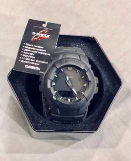 G-100 G SHOCK MATTE BLACK (NOT AUTHENTICATED)