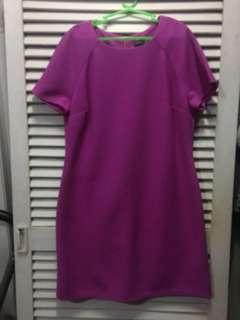 DOROTHY PERKINS purple dress (corporate attire)