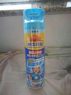 日本 衣物降溫噴霧 cooling spray
