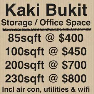 ❤️ Storage/Office for Rent