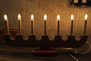 🚚 燭台造型 燈飾  寬46公分 x 高22.5公分