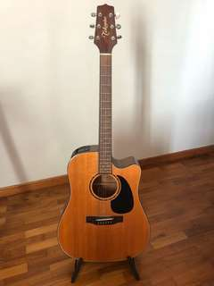 Takamine FP340SC Dreadnought (Made in Japan)