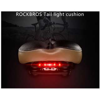 Rockbros Saddle Seat with LED 5700 (available in Full Black)