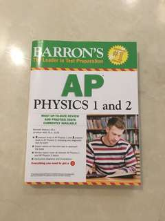 Barron's AP Physics 1 and 2 textbook (Brand new condition)