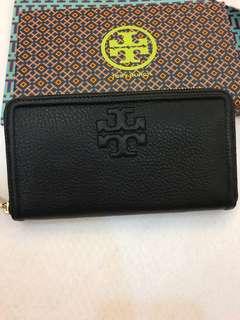 Original ready stock women long wallet purse pouch coin bag Tory Burch