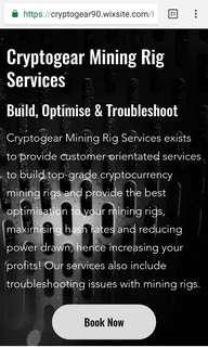 Mining Rigs Troubleshoot/optimise/build