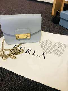 Furla Cross body blue