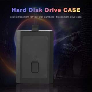 (921)Hard Disk 250GB HDD Case Hard Drive Enclosure Box Shell Cover for Xbox 360