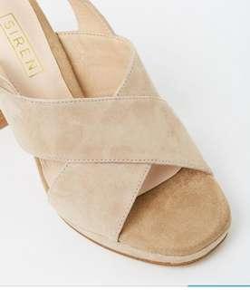 Siren heels never worn