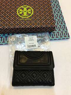 Ready Stock Original Tory Burch women Fleming short wallet