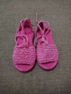 Slippers Crochet from Baguio