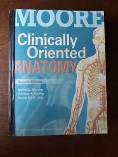 Moore Clinically Oriented Anatomy (Reprint)