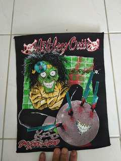 Motley Crue Dr FeelGood fabric painted poater