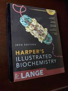 Harper's Illustrated Biochemistry (Reprint)