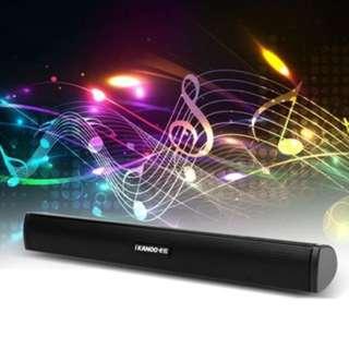 (924)Portable USB Stick Soundbar Speaker Subwoofer Loudspeaker For Tablet PC