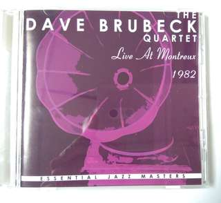 Dave Brubeck Quartett : live at Mantreux