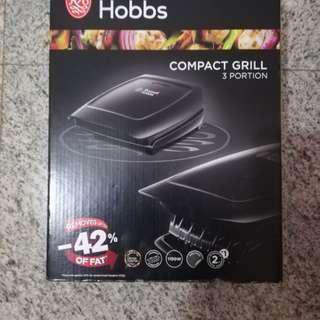 Russell hobbs compact grill 3 portion type