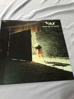 "Vinyl Record by Yaz (Don't Go) 12"" Single"
