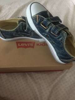 Authentic Levi's Kids Denim Sneakers