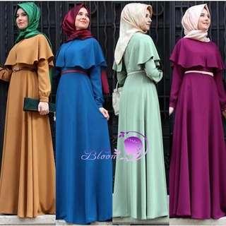 053 - Muslim Dress (4 Colors)