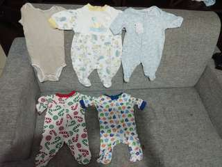 Preloved Baby boy Clothes/Rompers