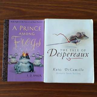 2 for $10: The Tale of Despereaux; A Prince Among Frogs