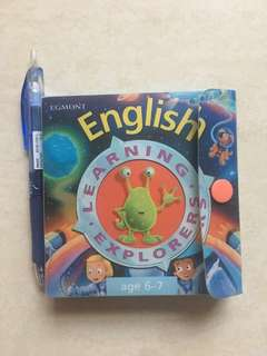 English Learning Explorer Flash Cards for age 6-7