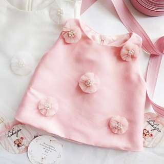 Blouse pink utk 5 th