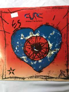 """Vinyl Record by The Cure - Friday I'm In Love 12"""""""