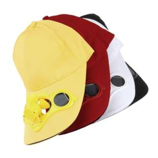 (930)Summer Sport Outdoor Hat Cap with Solar Sun Power Cool Fan For Cycling