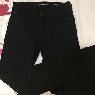 Authentic Levis Ladies Black Jeans