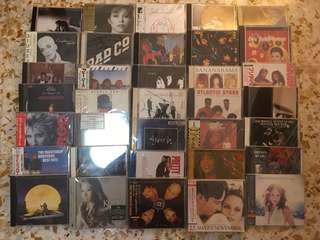 Japan Press CD, about 84 pieces, my own collection