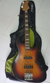 Bass guitar..No brand but plays good