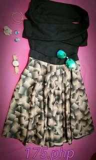 Top/skirt terno