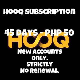HOOQ Subscription