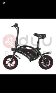 Dyu scooter 10.4 ah ( 1 year warranty )